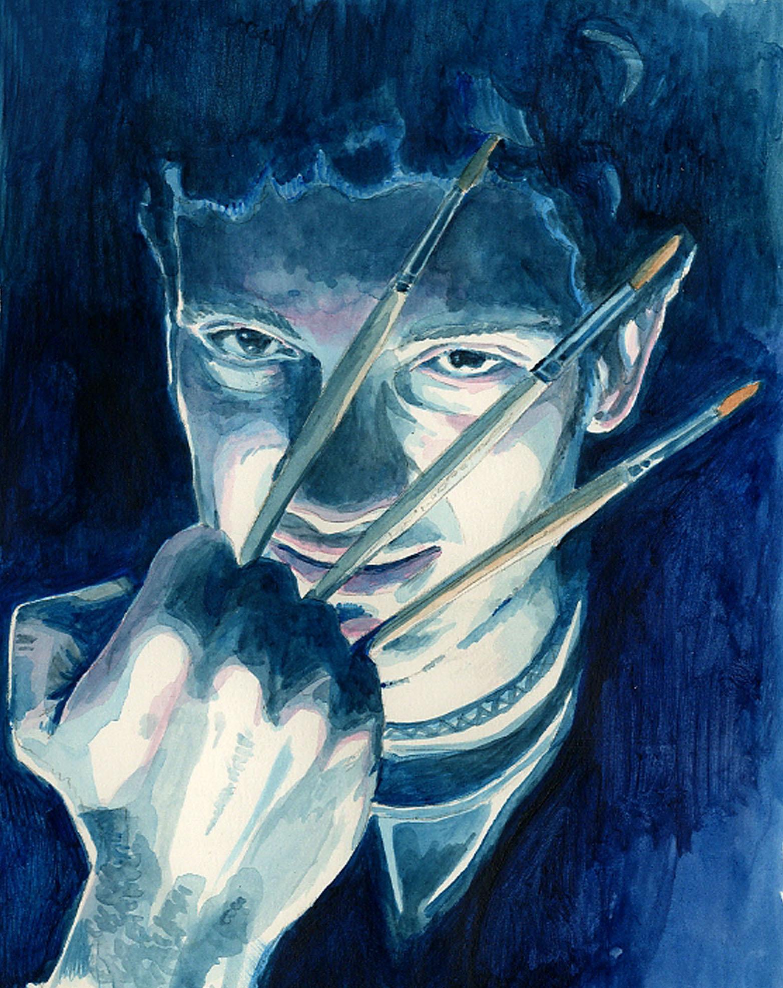 Daniel Garcia Art Illustration Auto Portrait Commission