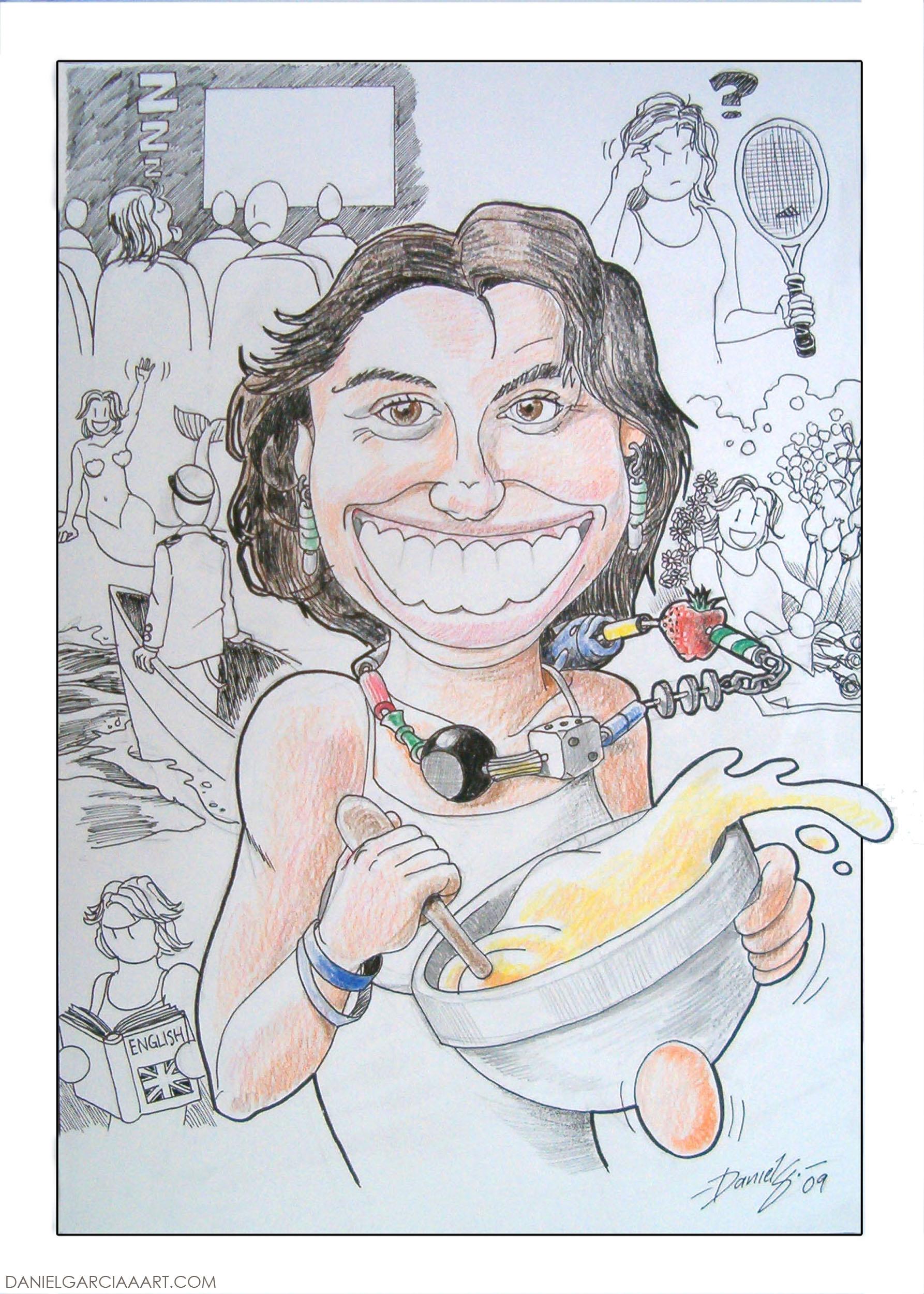 Daniel Garcia Art Illustration Caricature