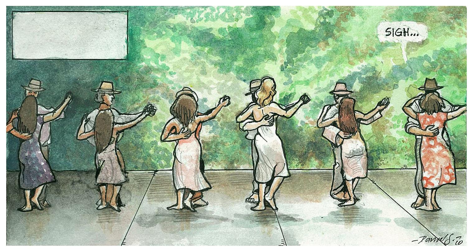 Daniel Garcia Art Illustration Almodovar Hable con Ella