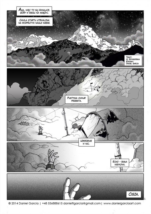 Daniel Garcia Art Illustration Comics BD Szymborska Nie Odbytej Odprawy 1