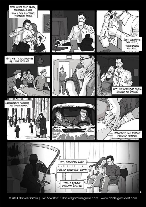 Daniel Garcia Art Illustration Comics BD Szymborska Nie Odbytej Odprawy 2