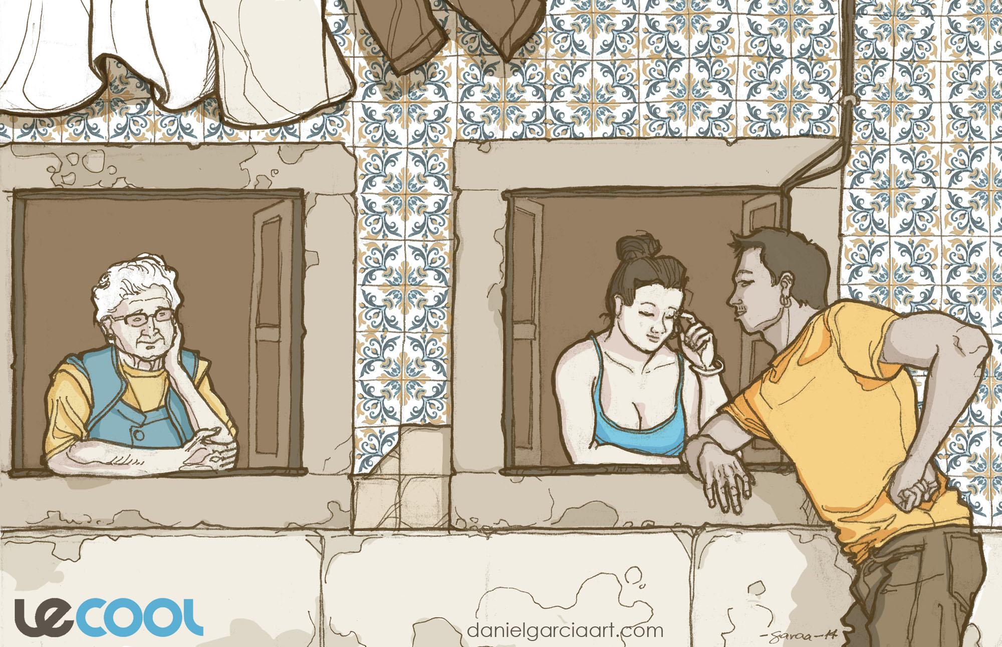 Daniel Garcia Art Illustration Lisbon Lisboa
