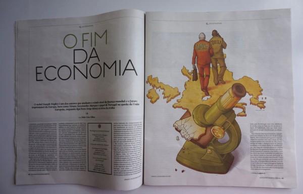 Daniel Garcia Art Illustration Editorial Portugal Crise Crisis Troika 04