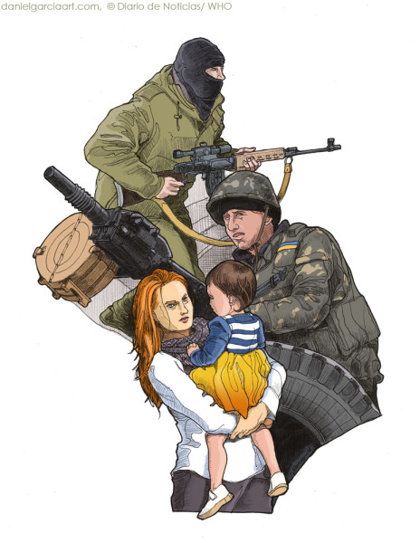 Daniel Garcia Art Illustration Ukraine War Russia Crimea 01 #