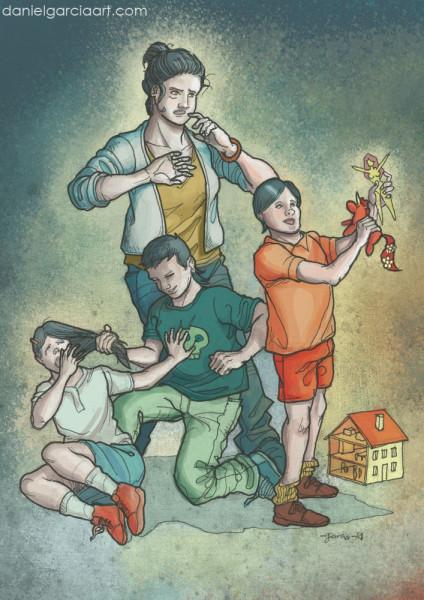Daniel Garcia Art Illustration Gender Education Gay Rights#