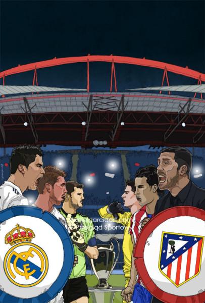 Daniel Garcia Illustration Art Liga Mistrzow Champions League Przeglad Sportowy 01