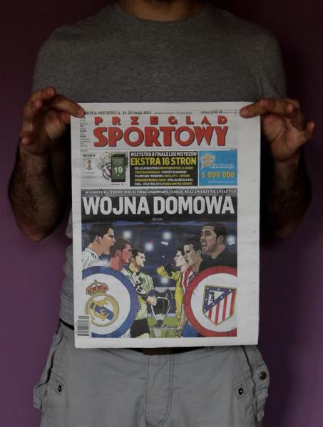 Daniel Garcia Illustration Art Liga Mistrzow Champions League Przeglad Sportowy 02