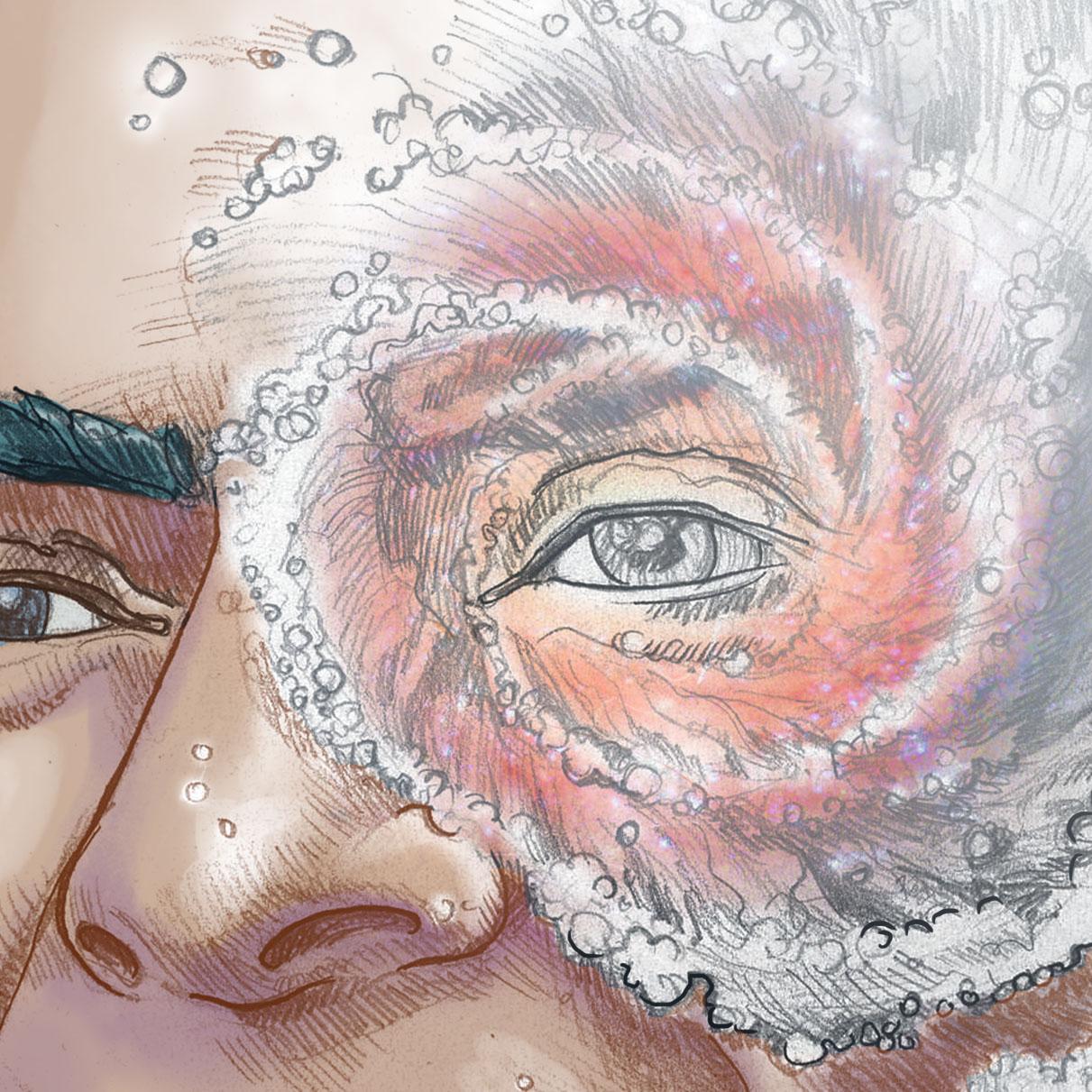 Daniel Garcia Art Illustration Carl Sagan Cosmos Universe 02