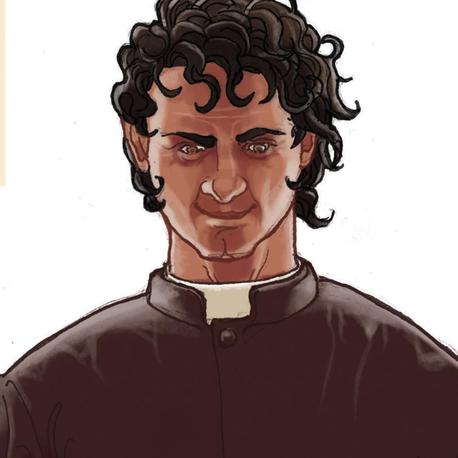 Daniel Garcia Art Illustration Satan Priest Boy Pedophile 02