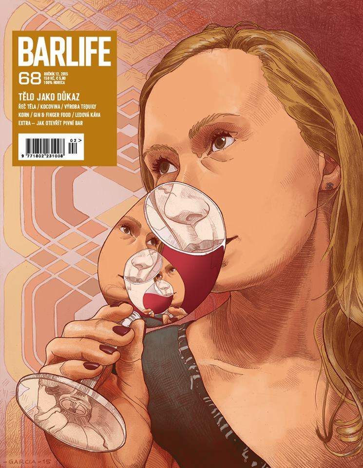 Daniel Garcia Art Illustration Barlife Magazine 48 Cover