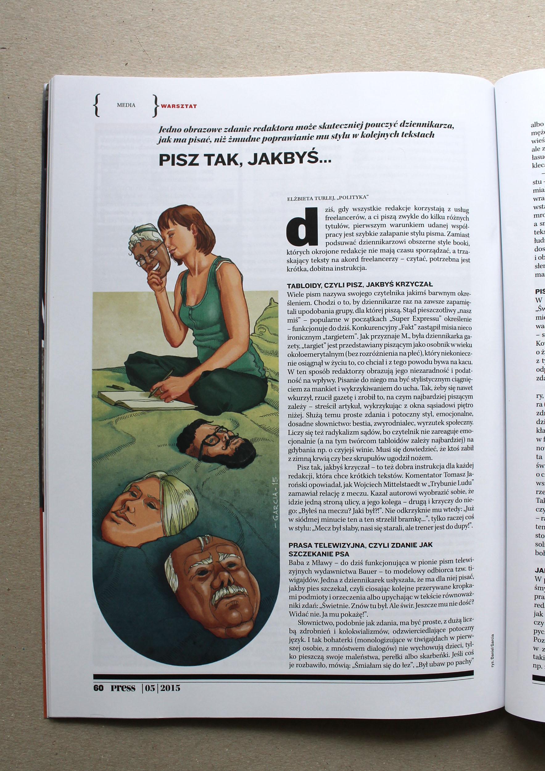 Daniel Garcia Art Illustration Press Freelancer Journalist Dziennikarstwo 02