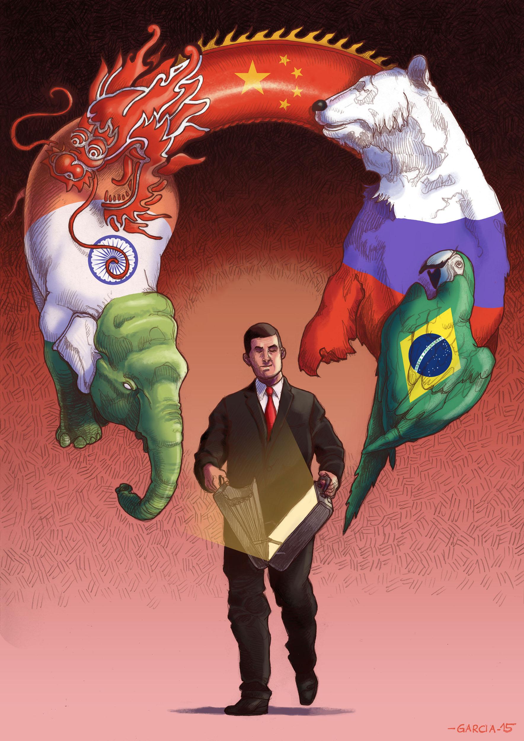 Daniel Garcia Art Economy Finance Busienss BRIC Countries Russia China India Brazil 2