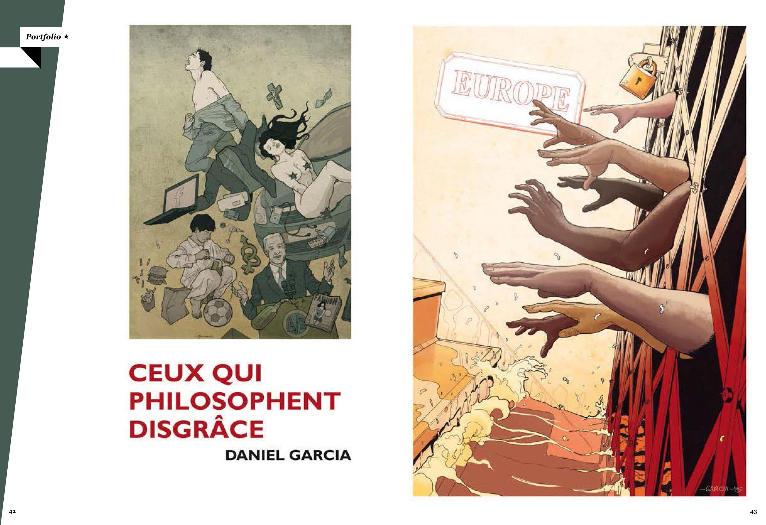 Daniel Garcia Art Illustration Portfolio Monde Libertaire 02