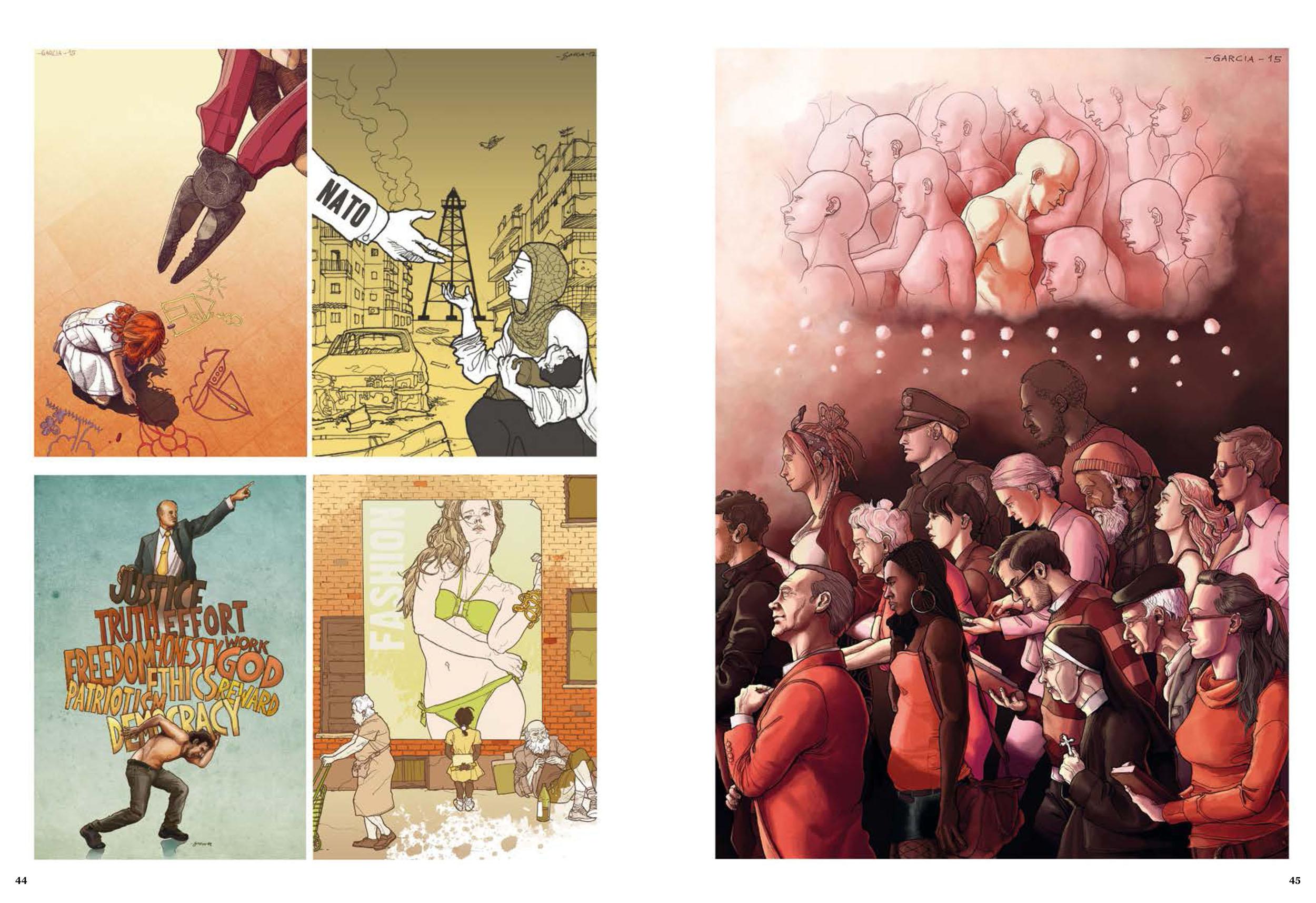 Daniel Garcia Art Illustration Portfolio Monde Libertaire 03