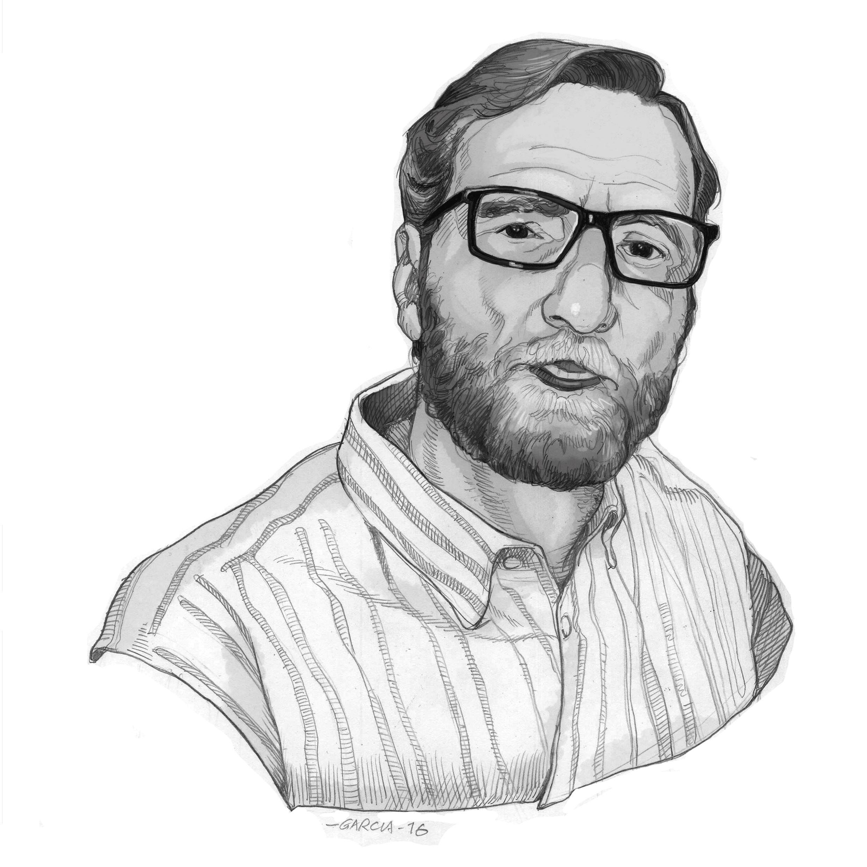 Daniel Garcia Art Illustration Portrait Journalist Tiempo de Hoy Hernando Calleja