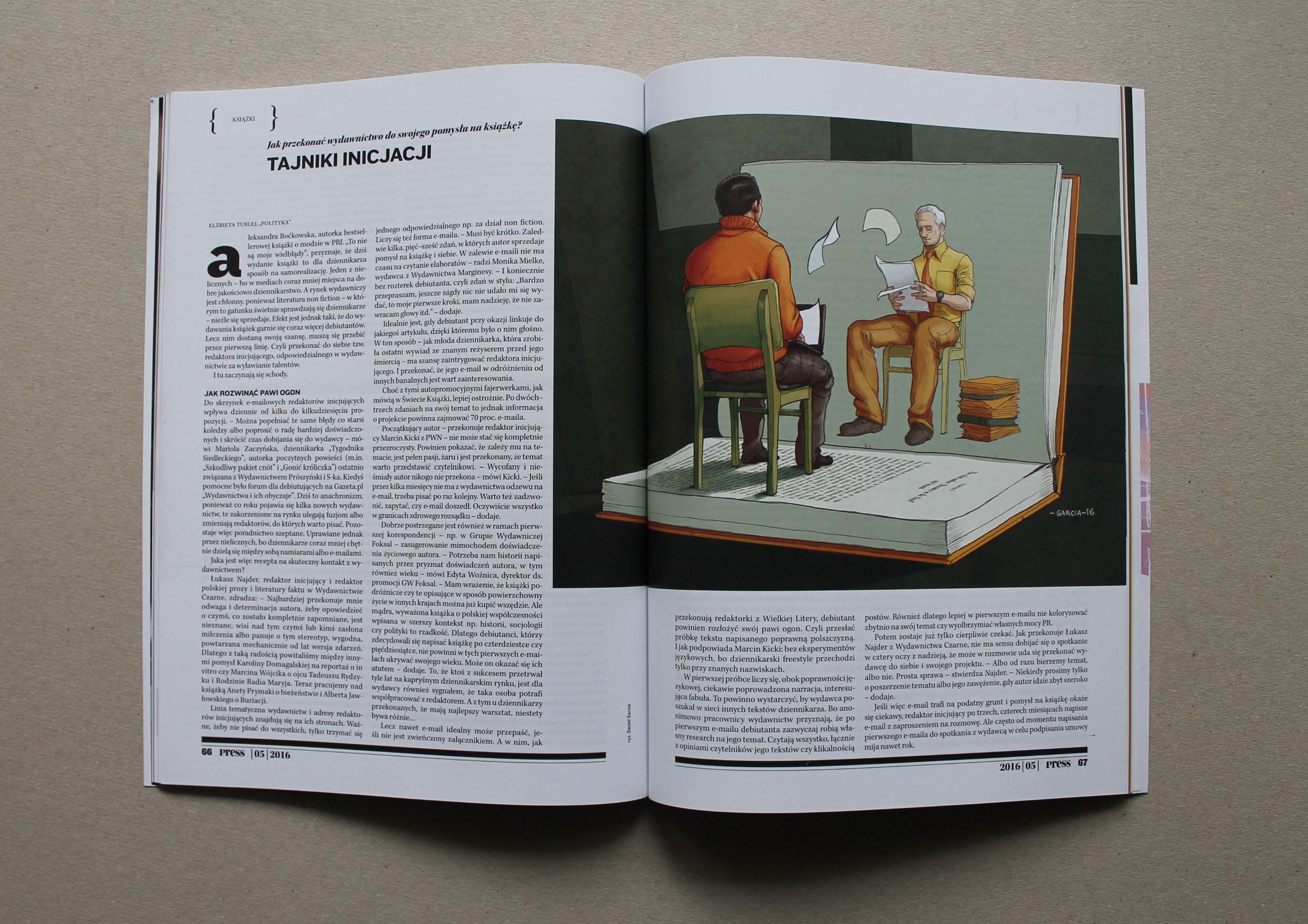 Daniel Garcia Art Illustration Press editors Writres Journalists Book 02