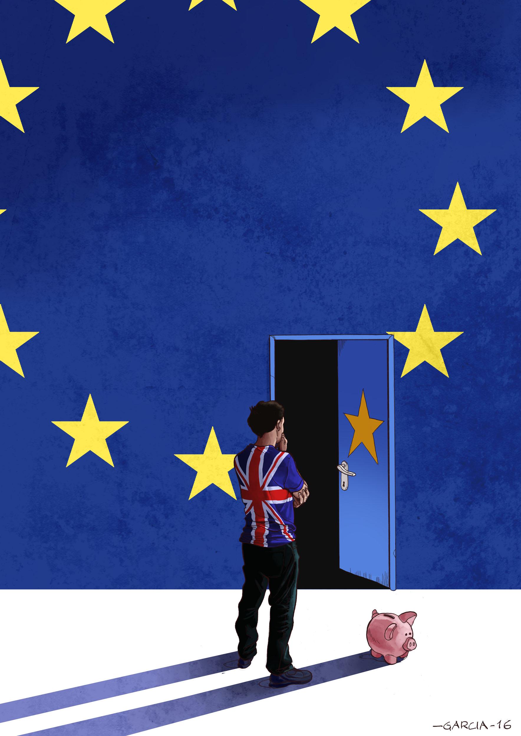 Daniel Garcia c2016 - Illustration Brexit UK Europe Referendum