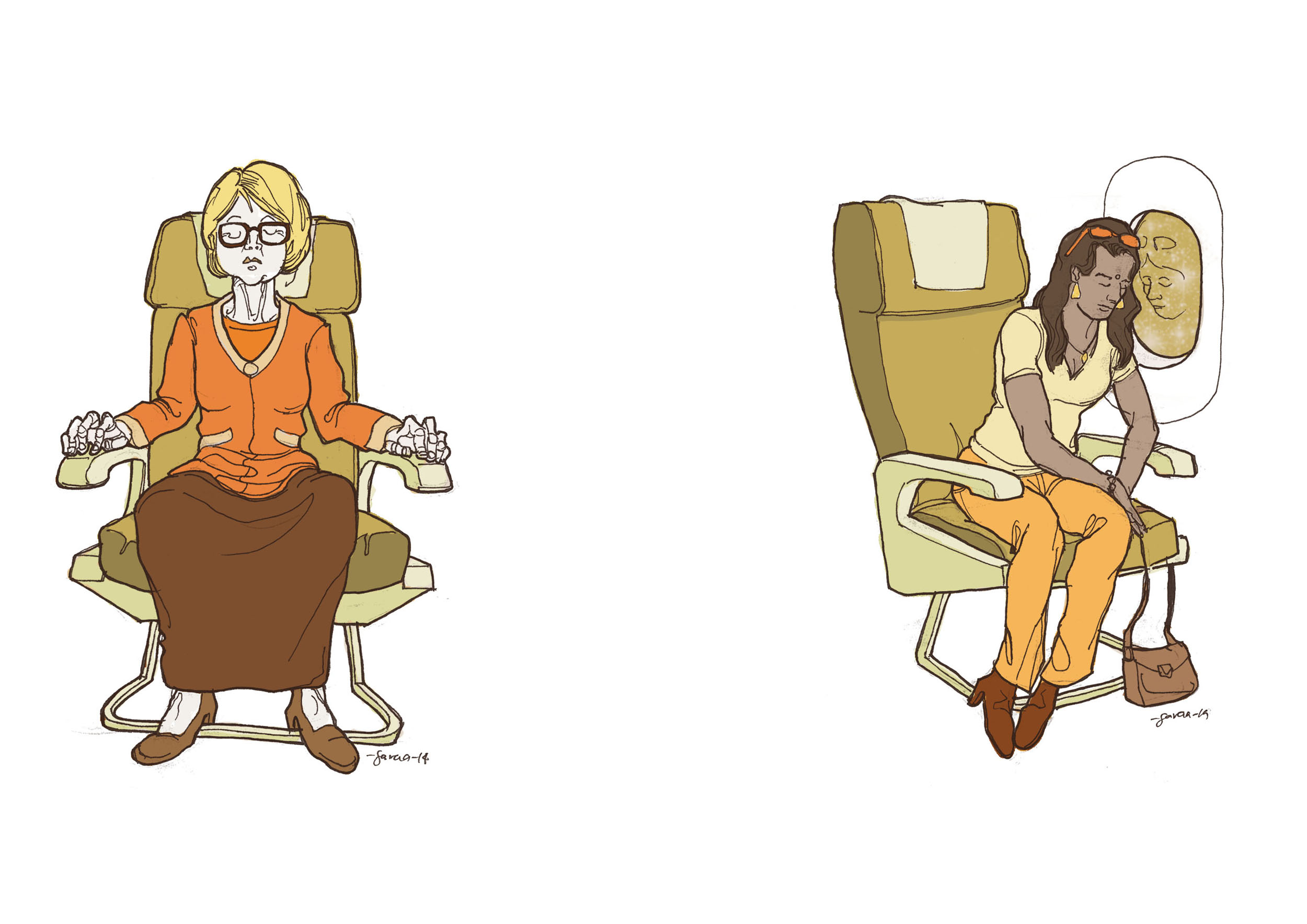 daniel-garcia-art-illustration-sleep-on-plane-national-geographic-traveler-02