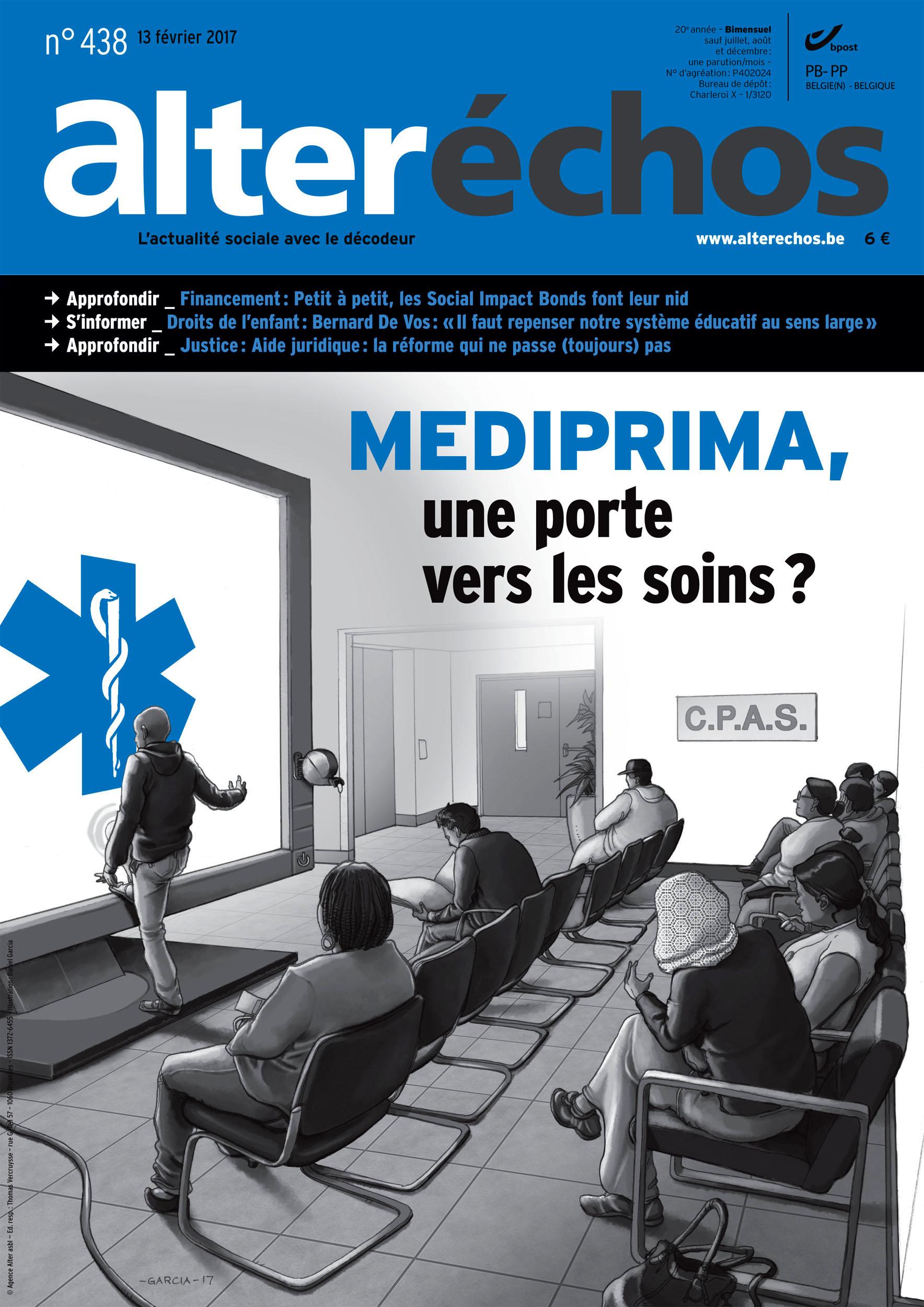 Daniel Garcia Alter Echos 438 Mediprima CPAS Social Belgium Belgique