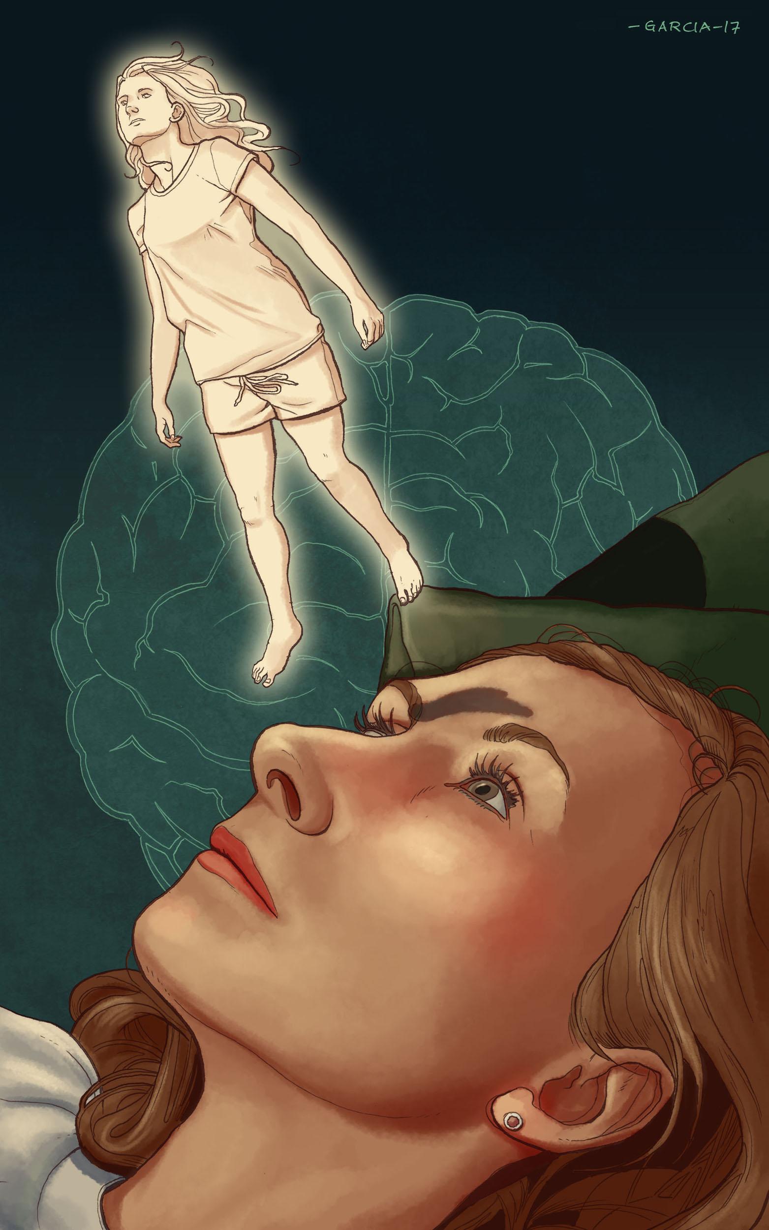Daniel Garcia Art Illustration Editorial Principia Out of Body Experience 01