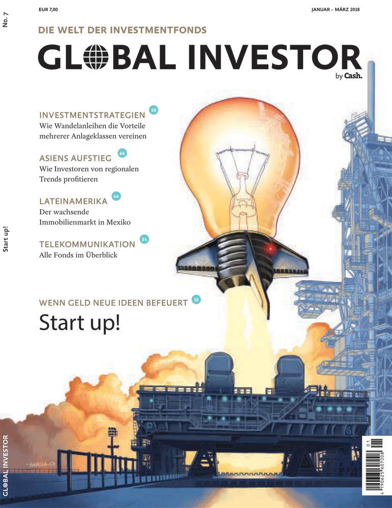 Daniel Garcia Art Illustration Global investor 7 Cover Startup Rocket Light Bulb provisory