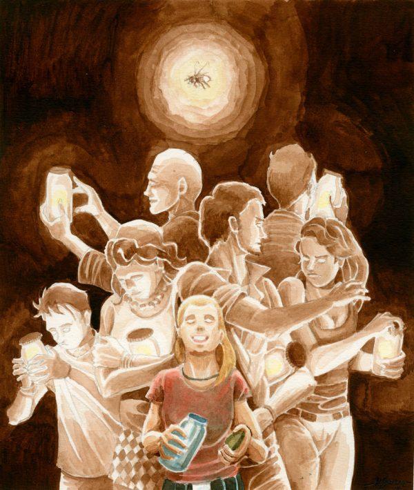Daniel Garcia Art Illustration Editorial Print Blindness Cegueira Saramago
