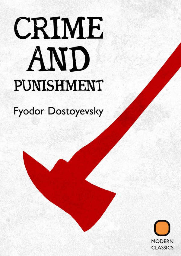 Triline Studio Daniel Garcia Book Cover Design Classics Crime and Punishment Dostoyevsky