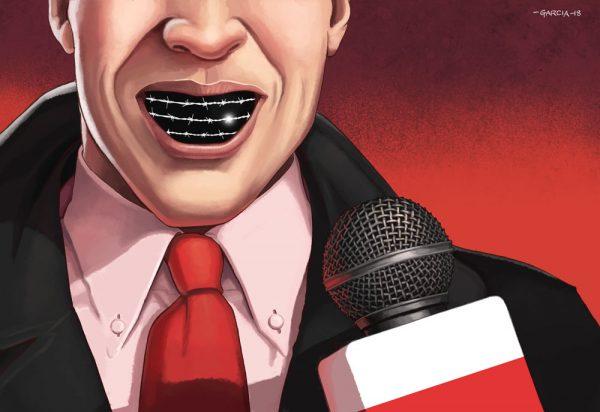 Daniel Garcia Art Illustration Editorial Antisemitism Poland Press Journalism Antysemityzm Polska Prasa Dziennikarze 01