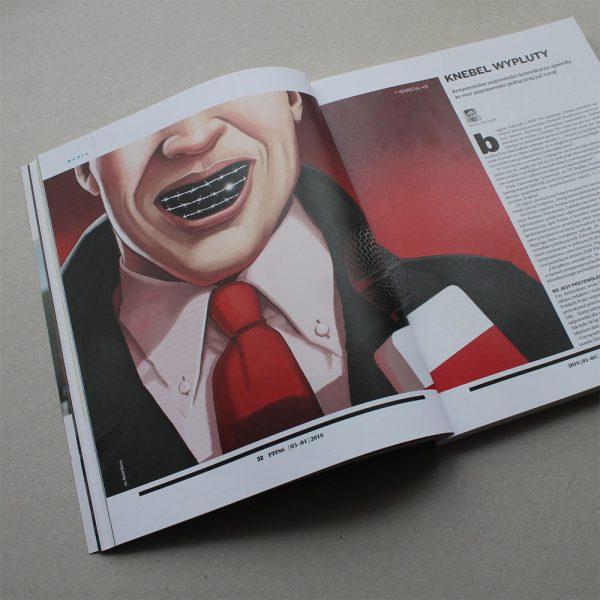 Daniel Garcia Art Illustration Editorial Antisemitism Poland Press Journalism Antysemityzm Polska Prasa Dziennikarze 02