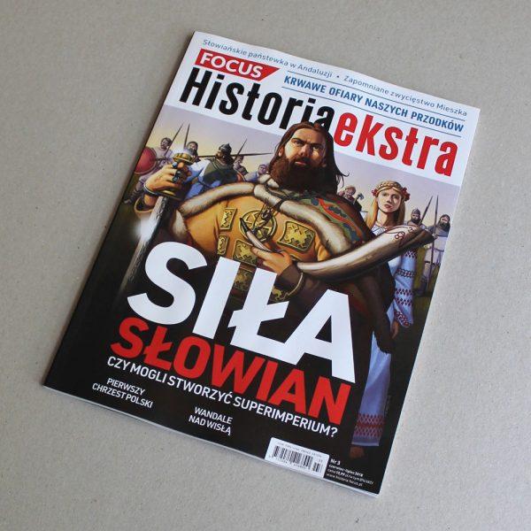 Daniel Garcia Art Editorial Illustration Ilustracja Okladka Slowianie Realistyczna Historia Focus History 02