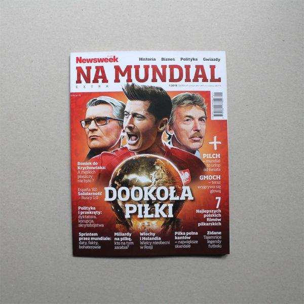 Daniel Garcia Art Editorial Ilustration Magazin Cover Okladka Specjal Mundial world Cup Poland Polska Lewandowski Nawalka Boniek 3