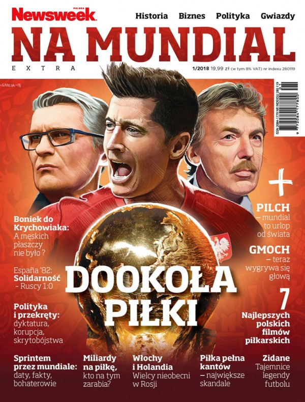 Daniel Garcia Art Editorial Ilustration Magzin Cover Okladka Specjal Mundial world Cup Poland Polska Lewandowski Nawalka Boniek 2