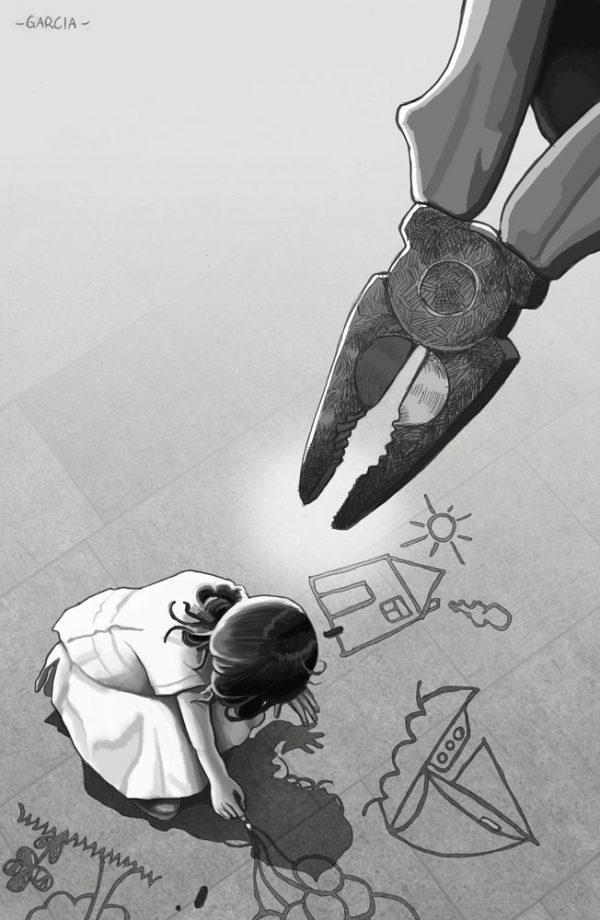 Daniel Garcia Art Editorial Conceptual Illustration Nervo Poetry Poesia Society's Pliers