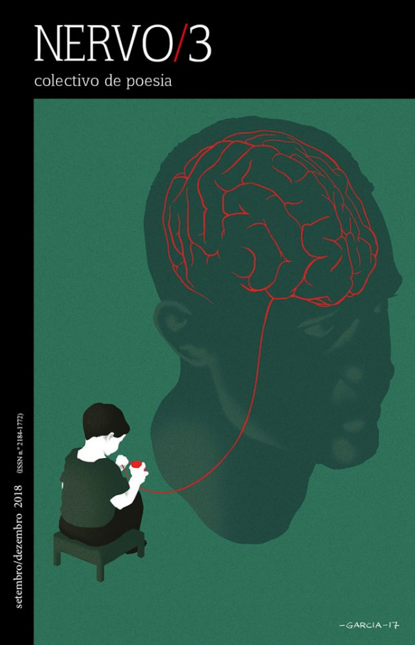 Daniel Garcia Art Illustration Editorial Conceptual Nervo Cover Capa Poetry Poesia Alzheimer Brain Man Boy Head Face 1