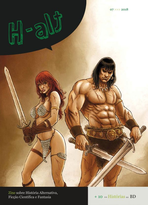 Daniel Garcia Art Editorial Illustration Comics H-Alt Fanzine Sciecne Fiction Space Black Hole Hell Adam Eve Bible 00 #