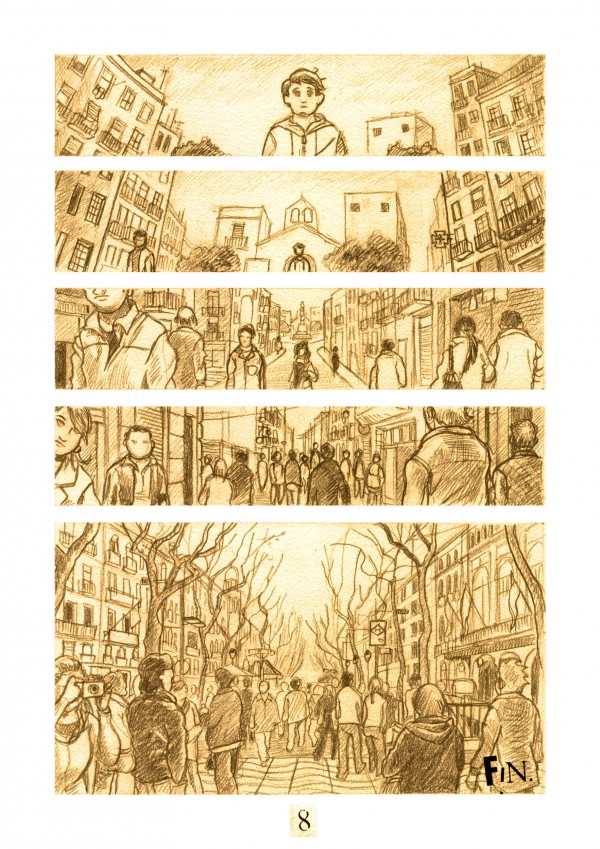 Daniel Garcia Art Illustration Periferias Barcelona Comic